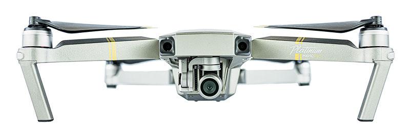 Drohne DJI Mavic Pro Platinum für Hochzeitsvideos