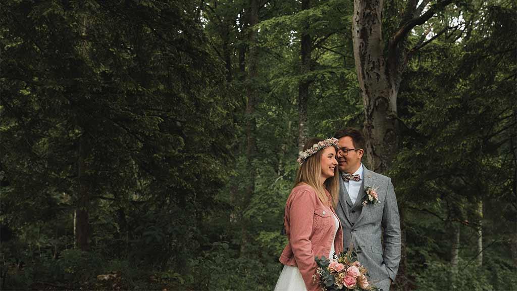 Brautpaar Herrenberg Schwarzwald